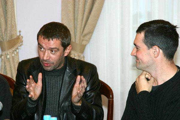 Пресконференция, говорит Владимир Машков